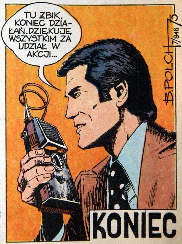 """Kadr z """"Kapitana Żbika"""", fot. archiwum prywatne"""