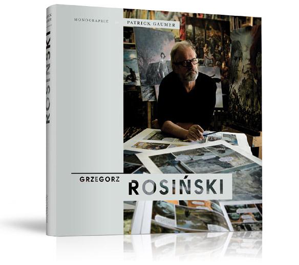 """""""Monographie"""" Grzegorz Rosiński, fot. materiały prasowe"""