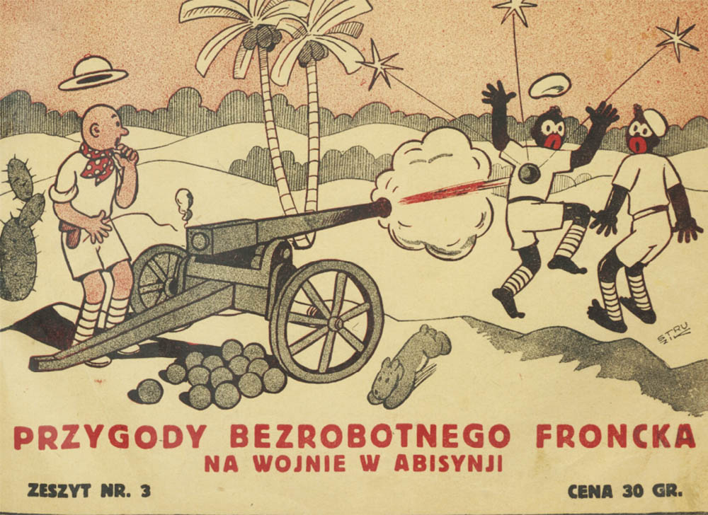 The Adventures Of Unemployed Froncek, Franciszek Struzik, 1936, Katowice, published by: Polonia, photo: Biblioteka Narodowa Polona