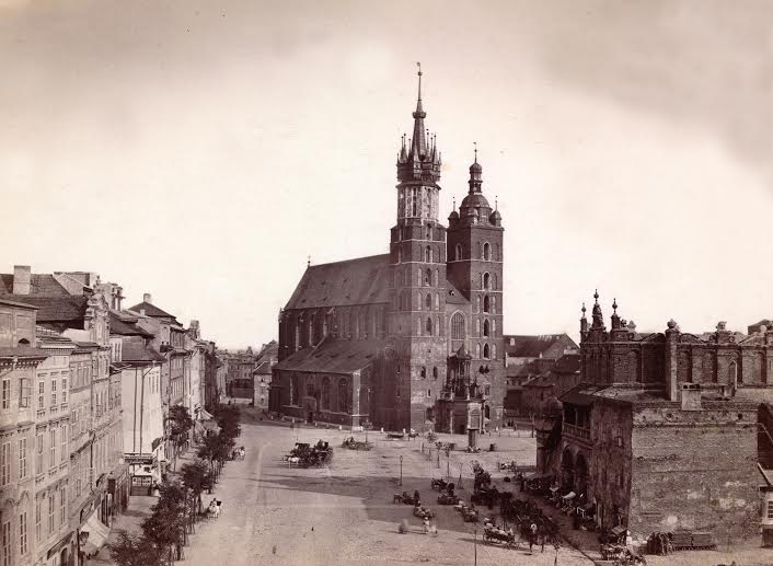 Ignacy Krieger, Main Square 1870, National Library, photo: press materials