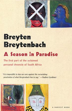 Cover of A Season in Paradise by Breyten Breytenbach, photo: press materials