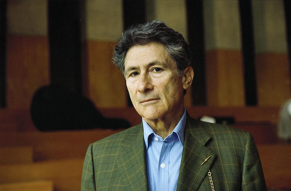 Edward Said, August 1999, photo: Akg-images / Bruni Meya/East News