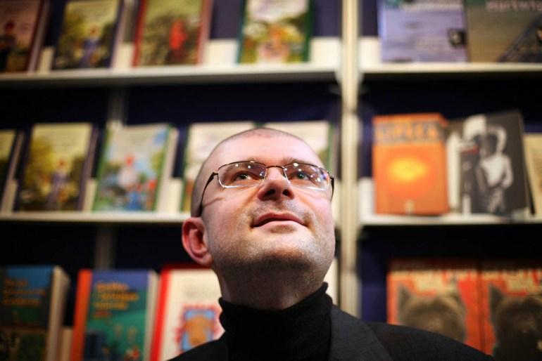 Jacek Dukaj, photo: Tomasz Wiech / AG