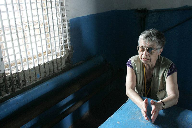 Наталья Горбаневская, Пермь, 2008. Фото Роберт Ковалевский / Agencja Gazeta