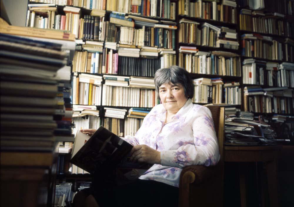 Maria Janion, Warszawa, 1978, fot. Janusz Sobolewski / Forum