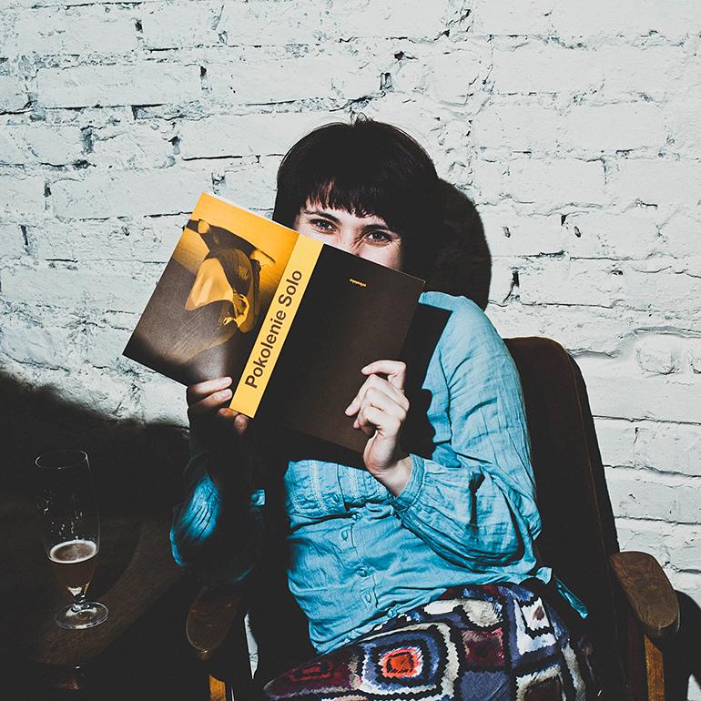 Anna Królica, fot. Kamila Buturla, dzięki uprzejmości autorki