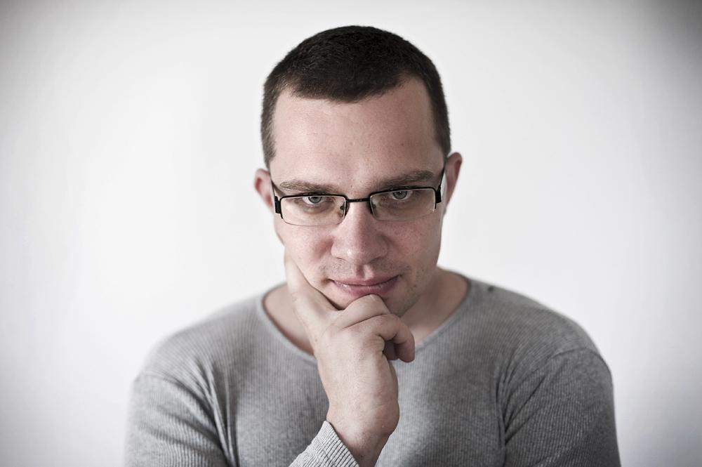 Łukasz Orbitowski, fot. Marek Szczepański/Przekrój/Forum