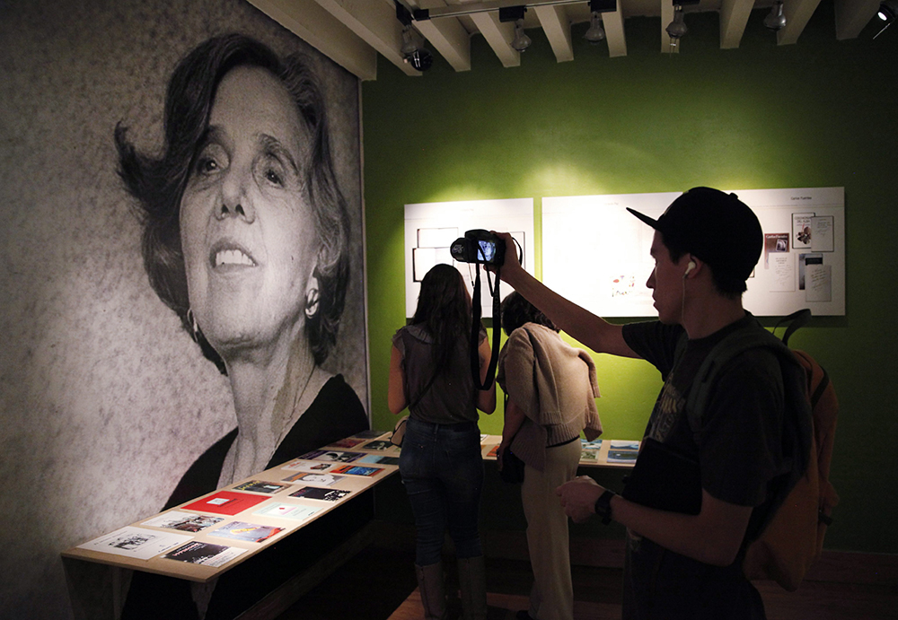 The exhibition Elena Poniatowska: A Work of Rage and Love at the Cultural Centre of Spain, in Mexico City, Mexico, 19 May 2015, photo: Jose Mendez/EPA/PAP