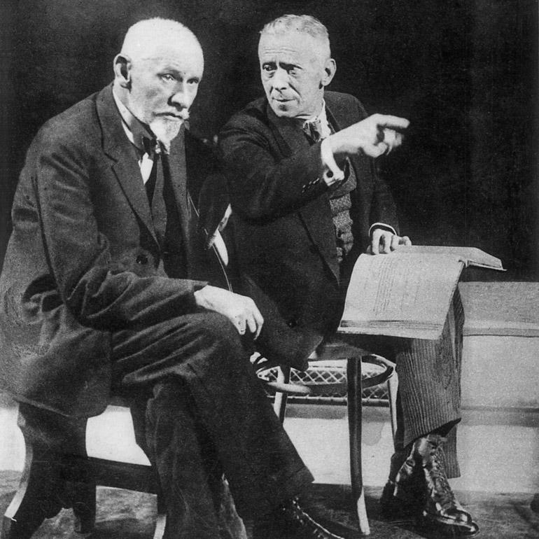 Stanislaw Przybyszewski, Ludwik Solski, 1927, photo: D. Lomaczewska/East News