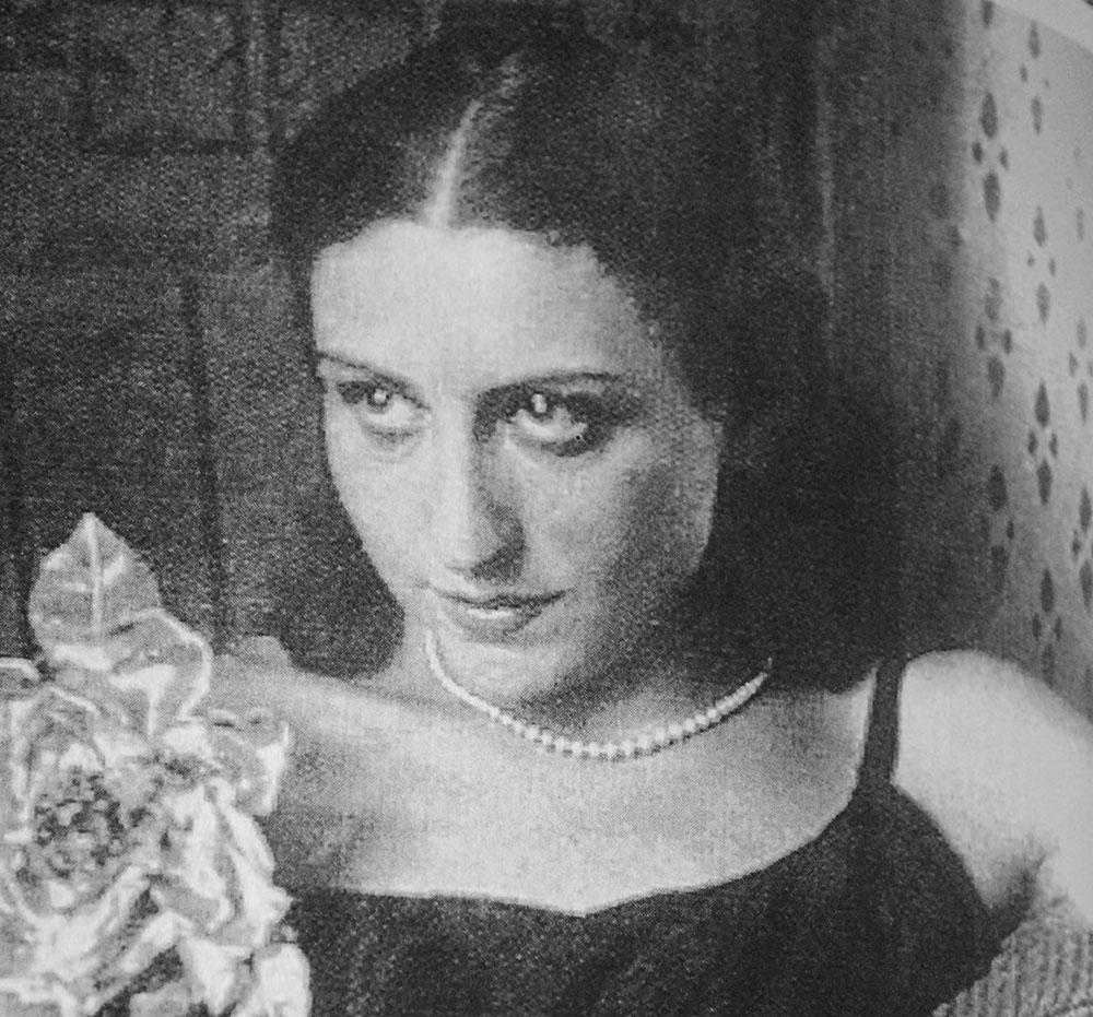 Józefina Szelińska, photo: B.Schulz, Jerzy Ficowski's Archive