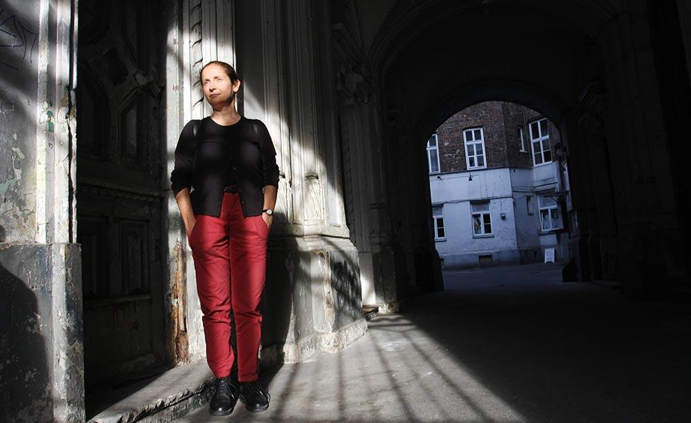 Автор метапрозы Магдалена Тулли, фото: Гражина Яворская /AG
