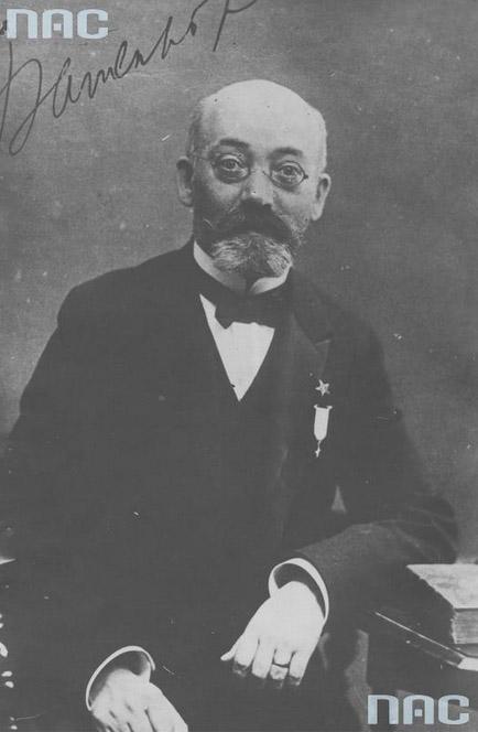 Ludwik Zamenhof, father of Esperanto, photo: National Digital Archives / www.audiovis.nac.gov.pl