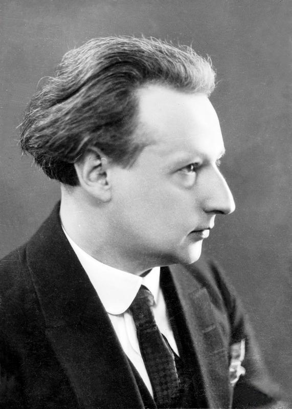 Emil Zegadłowicz, lata 20. XX wieku, fot. Narodowe Archiwum Cyfrowe