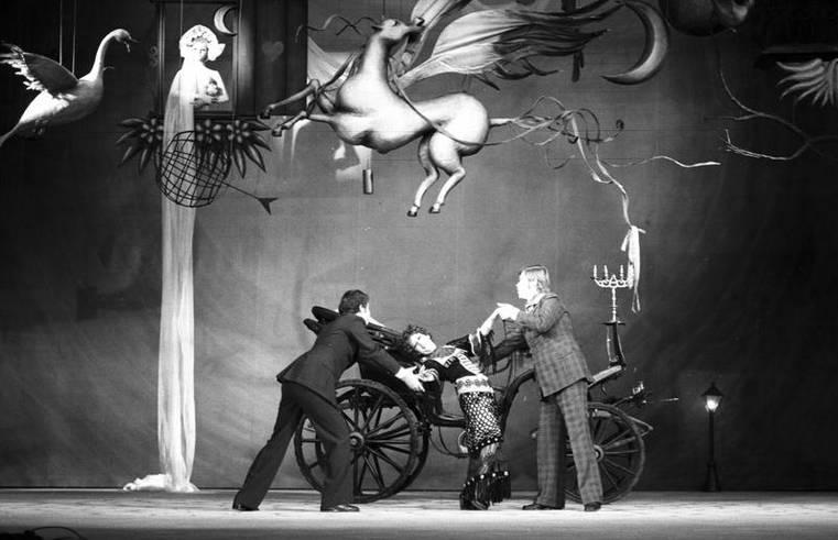Ирена Квятковская в роли Херменегильды Коцюбинской в постановке 1975 года «Зачарованная Херменегильда». Источник: Национальный цифровой архив