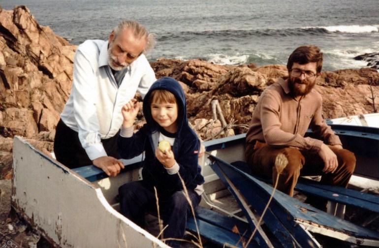 Jacek Woźniakowski i Stanisław Barańczak, USA, fot. z archiwum Woźniakowskich / East News