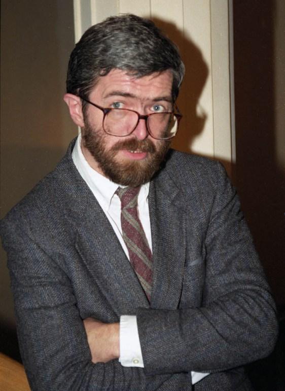 Stanisław Barańczak, 1991, fot.  Aleksander Jalosinski / Forum