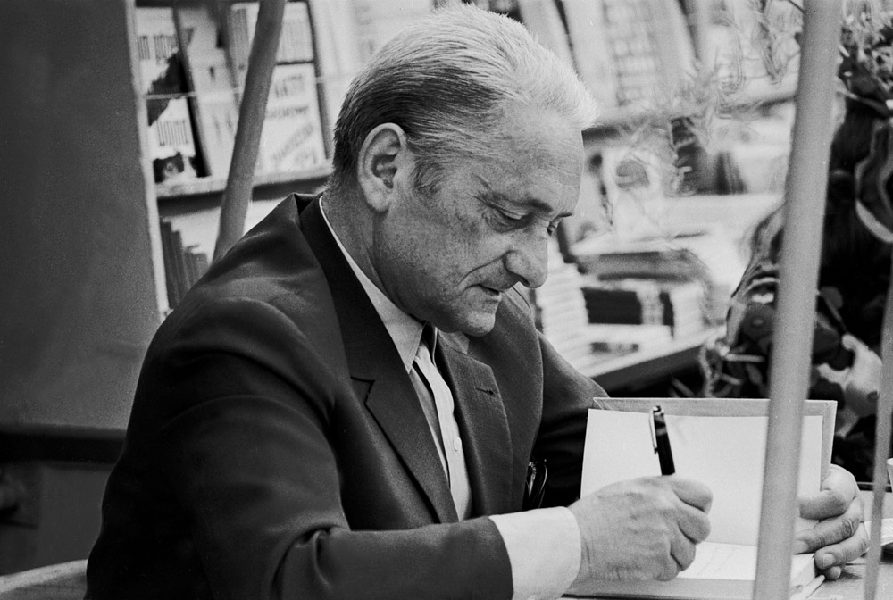 Marian Brandys, 1971, fot. Aleksander Jałosiński / Forum