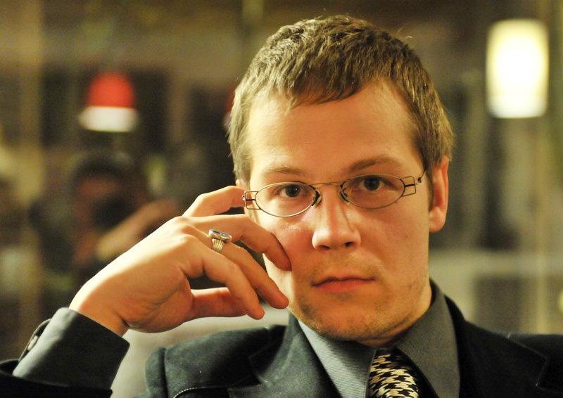 Jacek Dehnel - fot. Lech Gawuc / REPORTER/East News