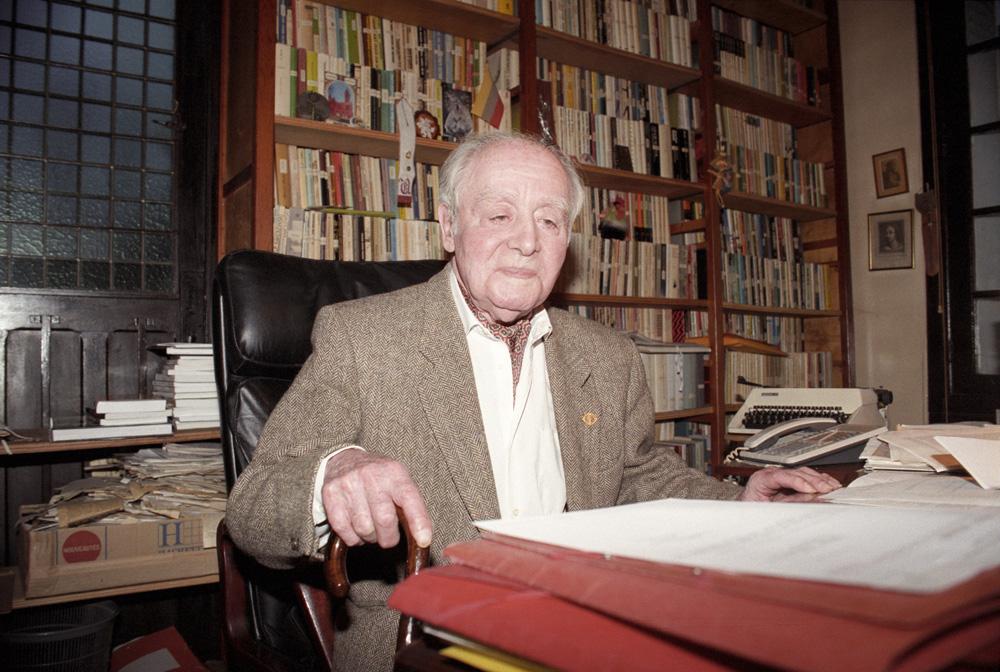 Jerzy Giedroyc, Maisons-Laffitte, Francja, 1996, fot. Ireneusz Sobieszczuk / Forum
