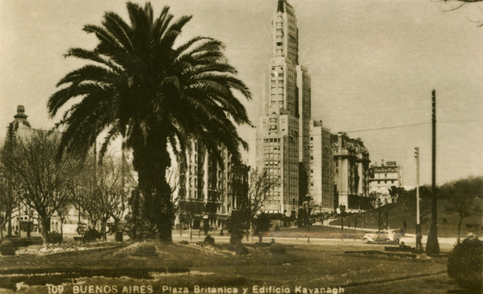 British Plaza and Kavanagh Building, Buenos Aires, Argentyna, fot. ary Evans Picture Librar / Forum