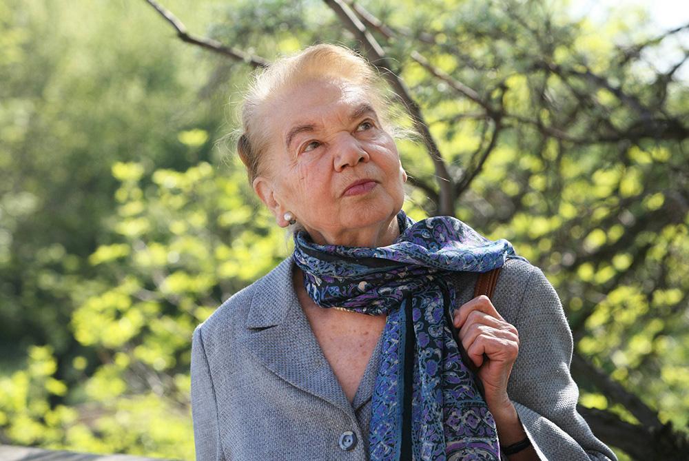 Julia Hartwig, 2006, fot. Iwona Burdzanowska/AG