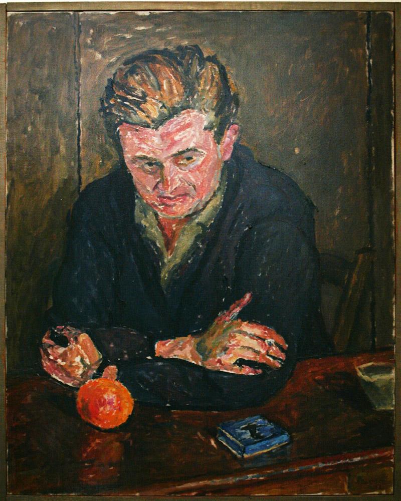 Józef Czapski, portret Marka Hłaski, 1958, fot. Tomasz Wierzejski / FOTONOVA / East News