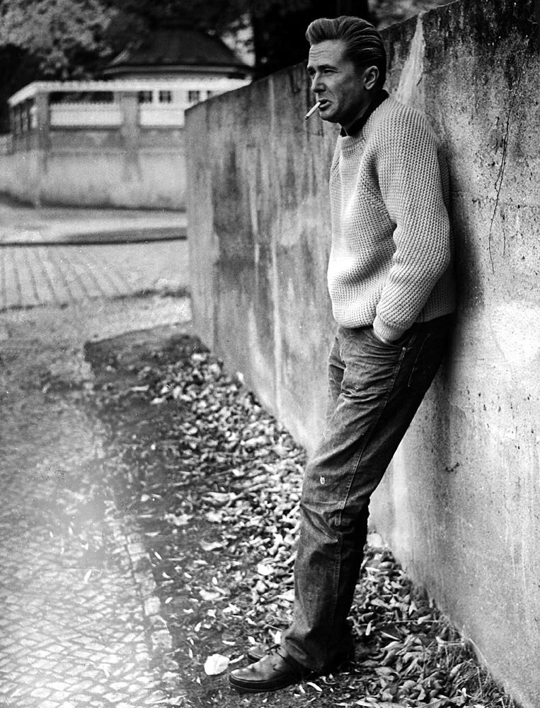 Marek Hłasko, Berlin, 1960, fot. Friedrich / interfoto / Forum