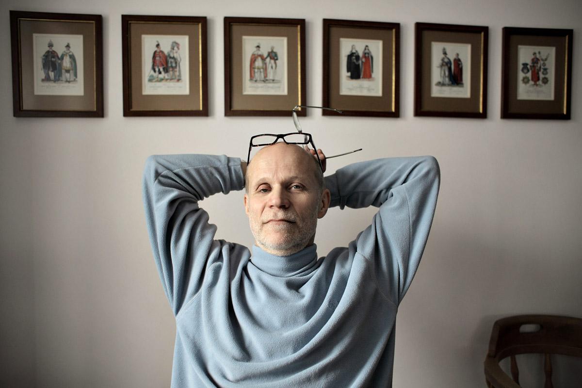 Jacek Hugo-Bader, fot. Krzysztof Zuczkowski/FORUM