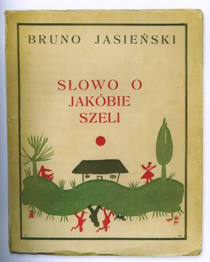 """Bruno Jasieński """"Słowo o Jakubie Szeli"""", okładka"""
