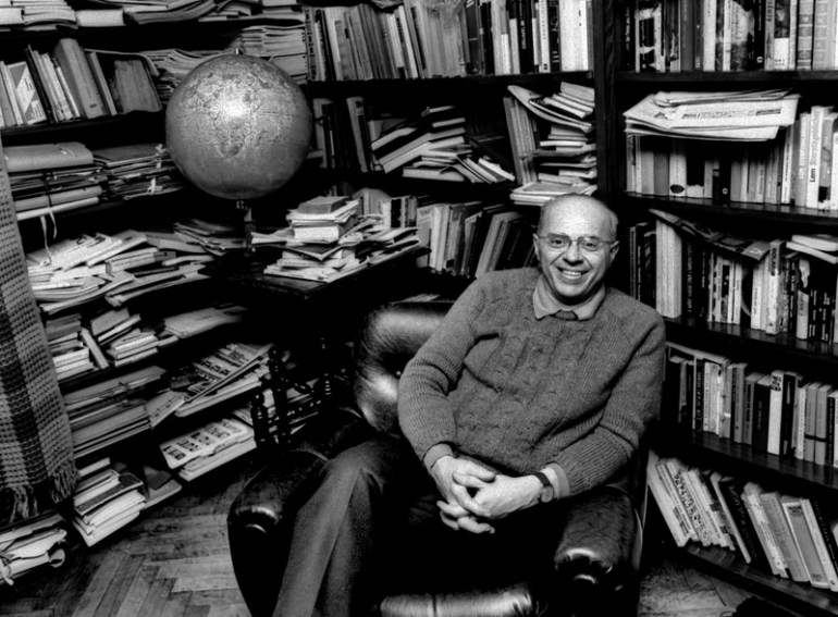 Stanisław Lem, photo: Aleksander Jalosinski / Forum