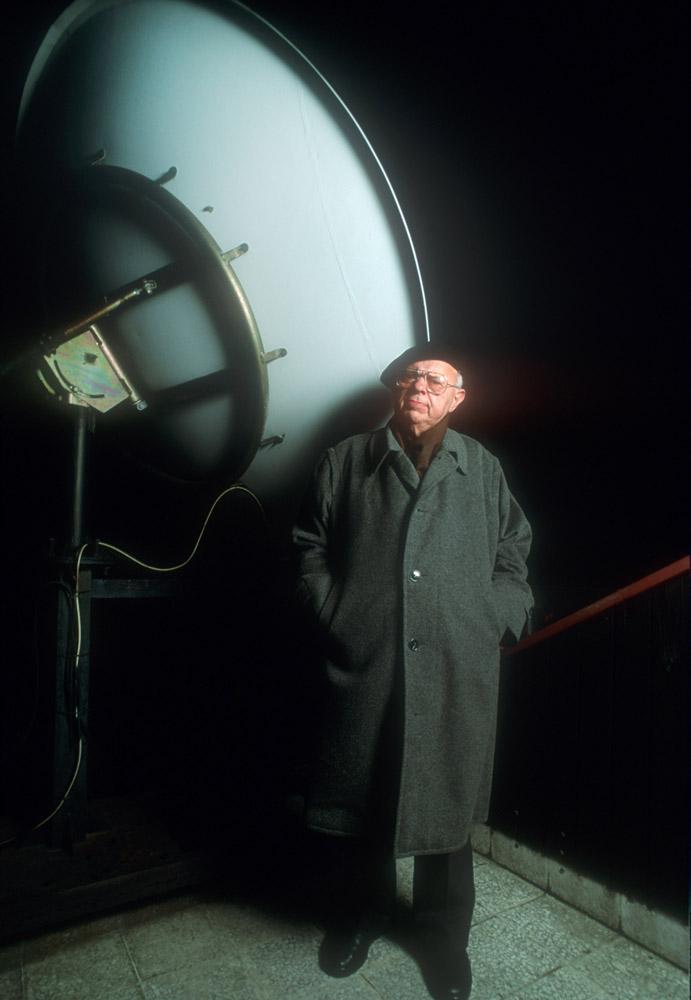 Stanisław Lem, Kraków, 1993, photo: Krzysztof Wojcik / Forum