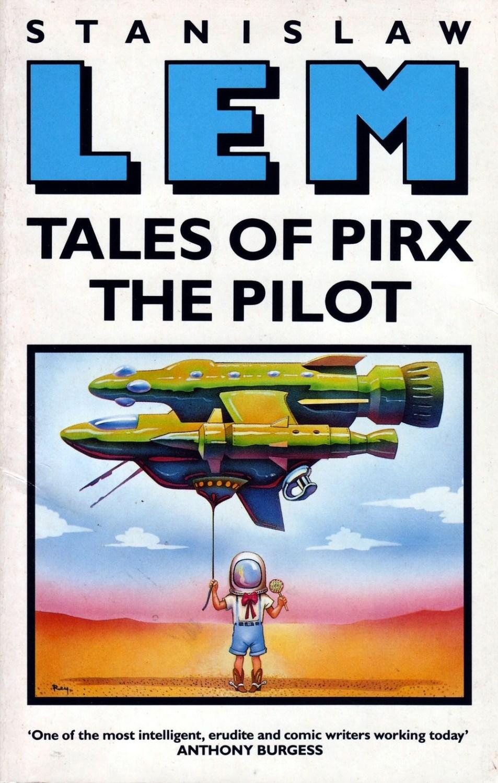 Станислав Лем «Рассказы о пилоте Пирксе», английское издание, изд-во Mandarin, 1990, фото: Mandarin