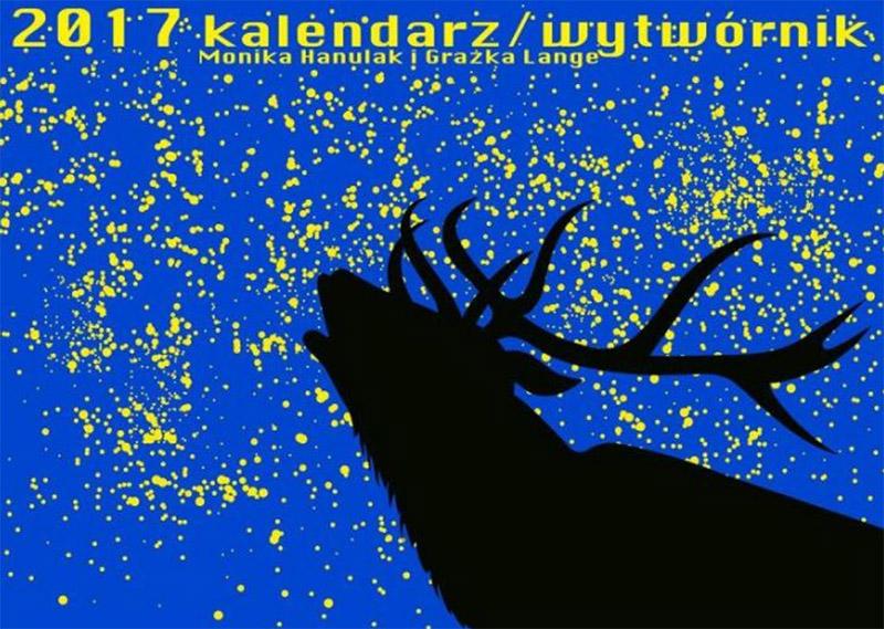 «Сам себе дизайнер. Календарь 2017», иллюстрации: Моника Хануляк, Гражка Ланге, фото: промо-материалы издательства «Wytwórnia»