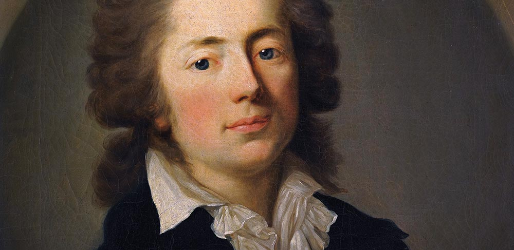 "Anton Graff , ""Portrait of Count Jan Nepomucen Potocki"", 1785, photo: Royal Castle"