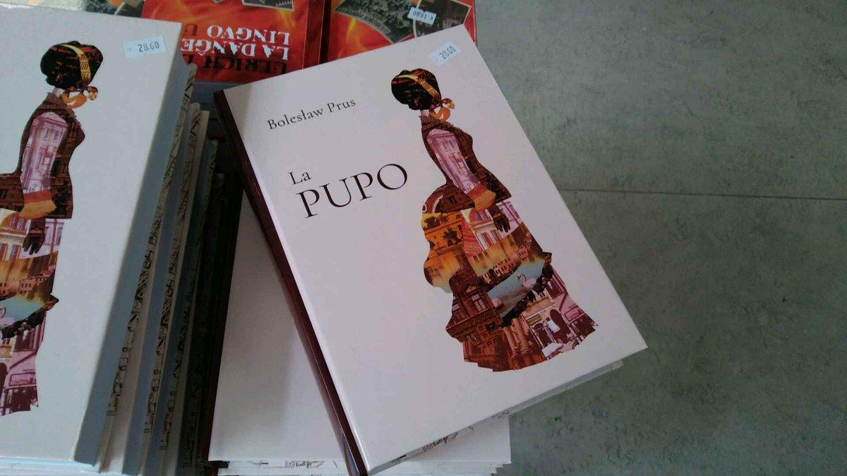El Pupo, the Esperanto version of Prus' The Doll, photo: @imnej7 / Twitter