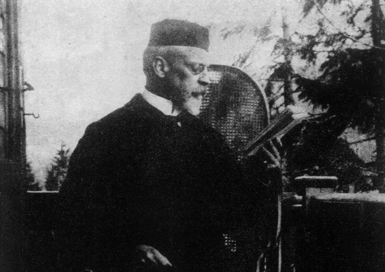 Henryk Sienkiewicz in Zakopane, 1894, photo: Kamil Kajko / Forum