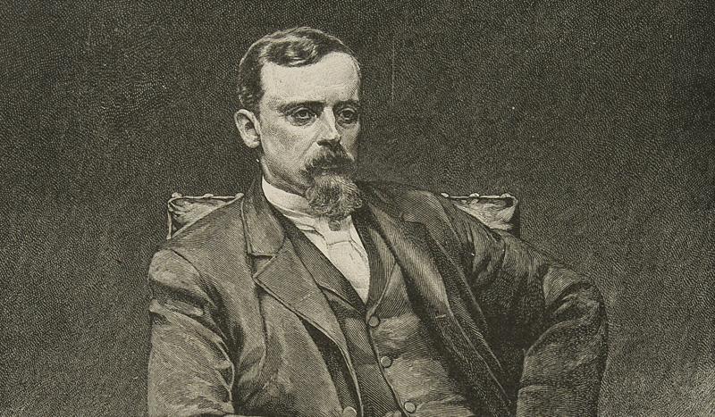 Henryk Sienkiewicz, według portretu Kazimierza Pochwalskiego, 1891, fot. Cyfrowa Biblioteka Narodowa Polona