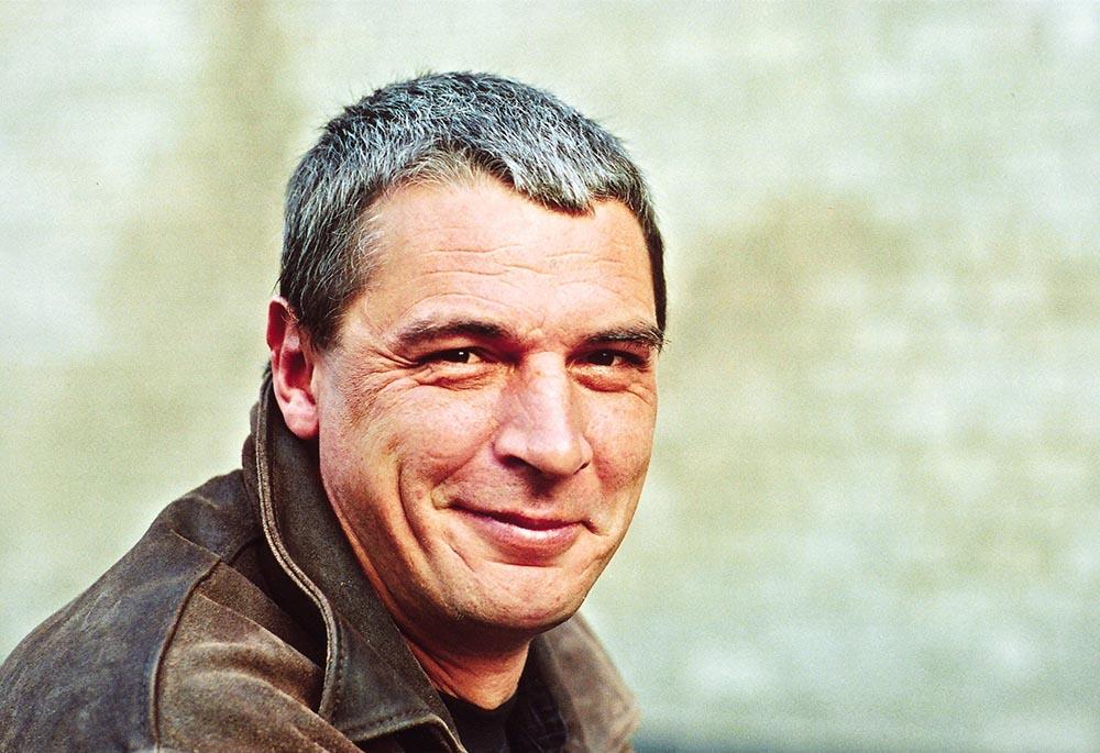 Andrzej Stasiuk, fot. Friedrich, Brigitte/SZ Photo