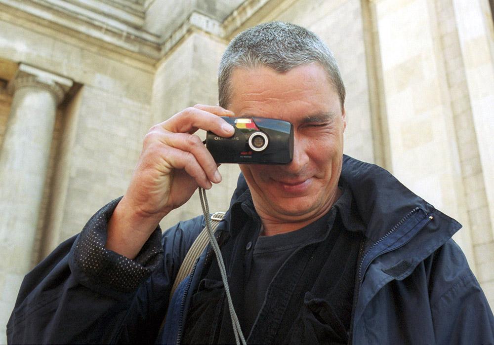 Andrzej Stasiuk, fot. Jacek Łagowski/Forum