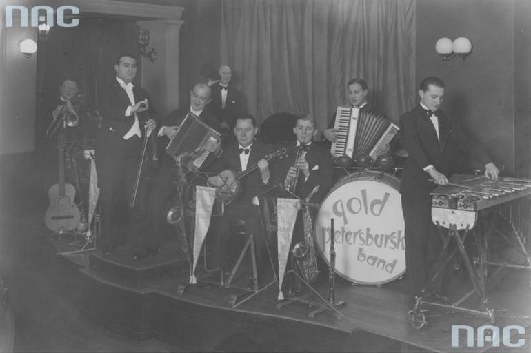 Zespół muzyki tanecznej Artura Golda i Jerzego Petersburskiego