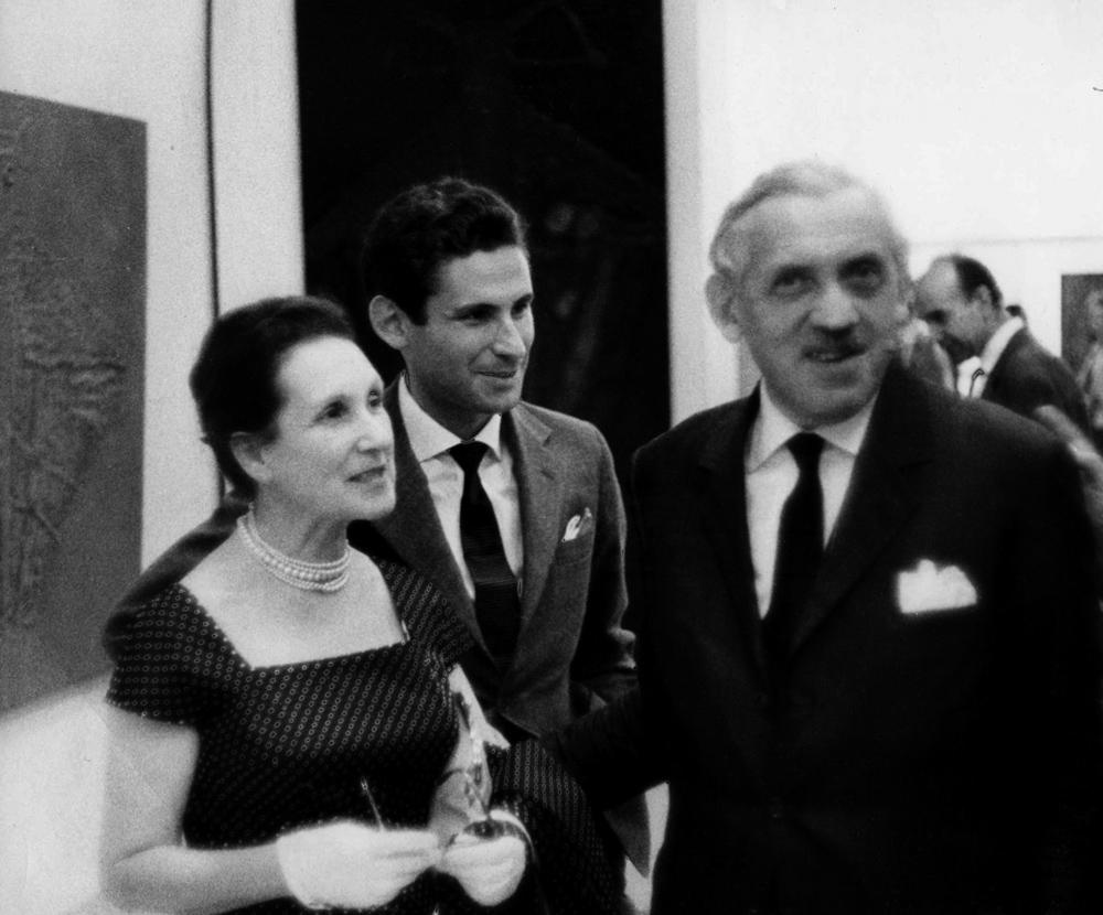 Na zdjęciu: Ola Watowa, Andrzej Wat, Aleksander Wat, Paryż, 1961; fot. z archiwum Instytutu Dokumentacji i Studiów nad Literaturą Polską