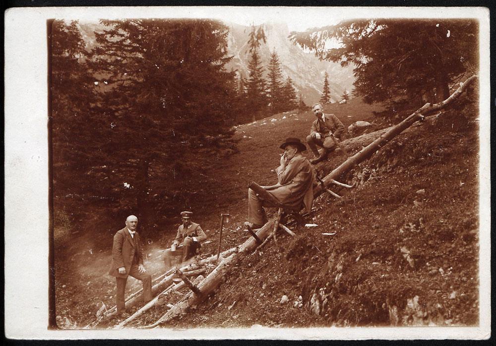 Stefan Żeromski w Tatrach w 1916, fot. Biblioteka Narodowa (Polona.pl)