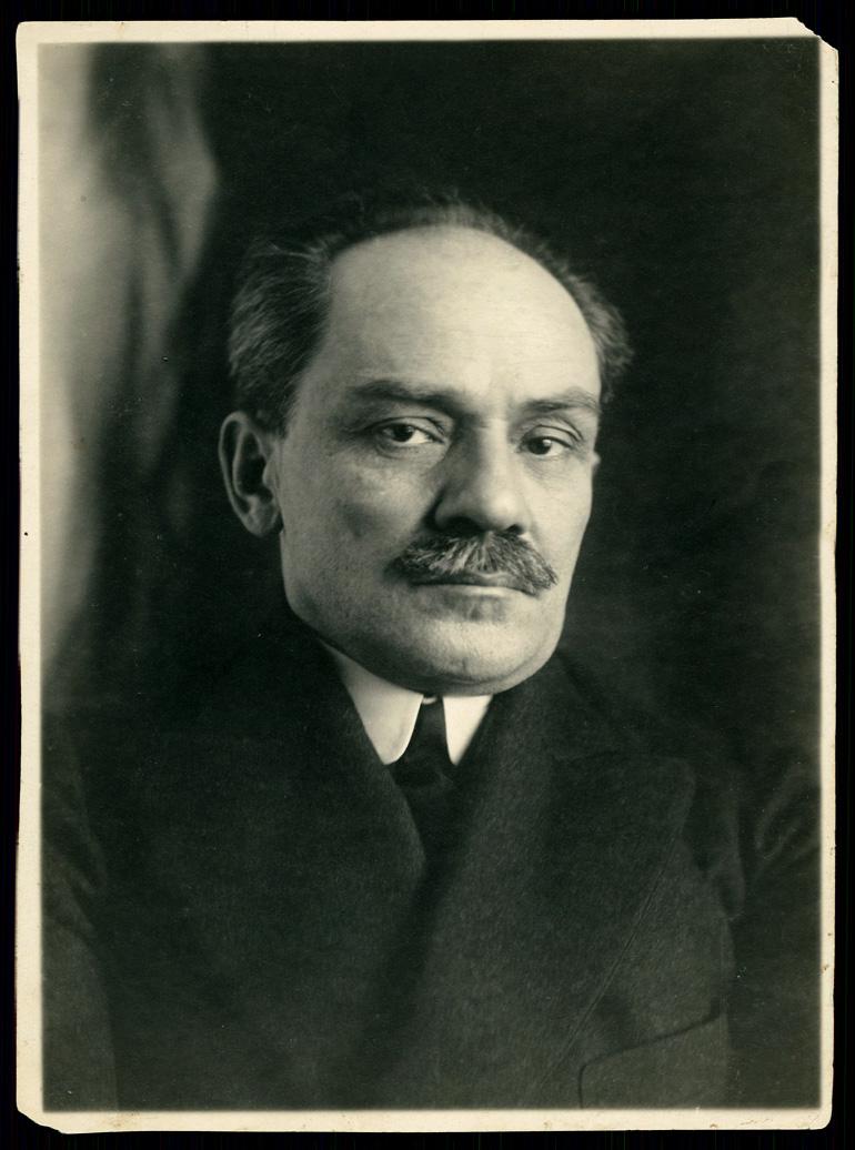 Stefan Żeromski w 1912, fot. Stanisław Ignacy Witkiewicz / Biblioteka Narodowa (Polona.pl)