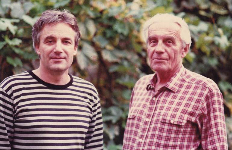 Сын и отец. Анджей и Мирослав Жулавские, фото из семейного архива