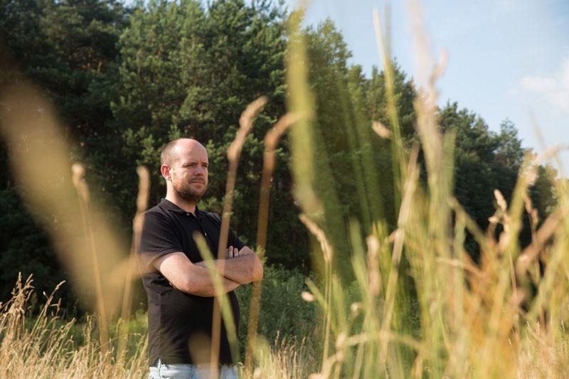 Вітольд Шабловський. Фото: Міхал Йончик