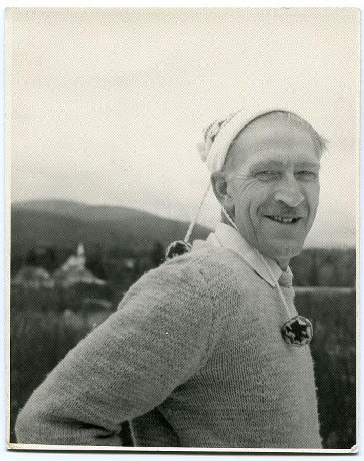 Andrzej Bobkowski, jedno z ostatnich zdjęć,  fot. z archiwum Muzeum Literatury