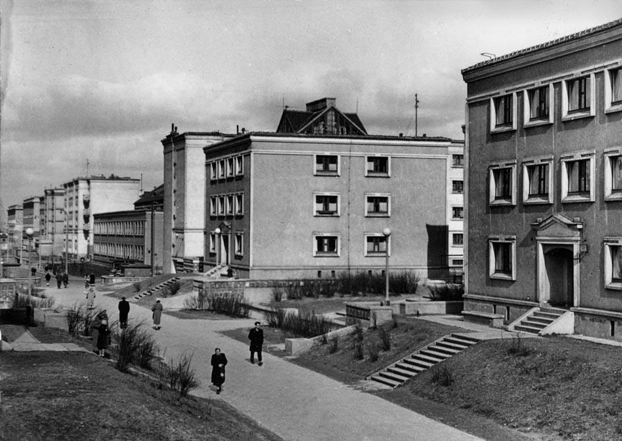 Muranów, Warszawa, fot. Stacja Muranów