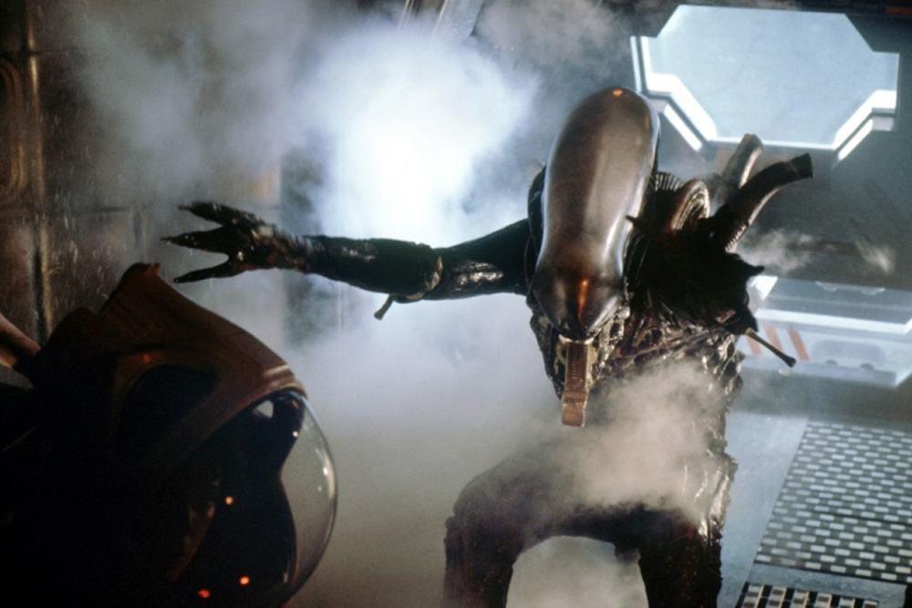 Still from Alien, director: Ridley Scott, 1979, photo: Syrena EG