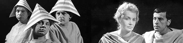 """""""Jaskinia filozofów"""", realizacja z roku 1961, fot. materiały Fundacji im. Z. Herberta"""