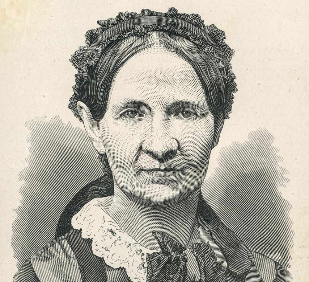 Narcyza Żmichowska, 1877, fot. Biblioteka Narodowa/Polona.pl